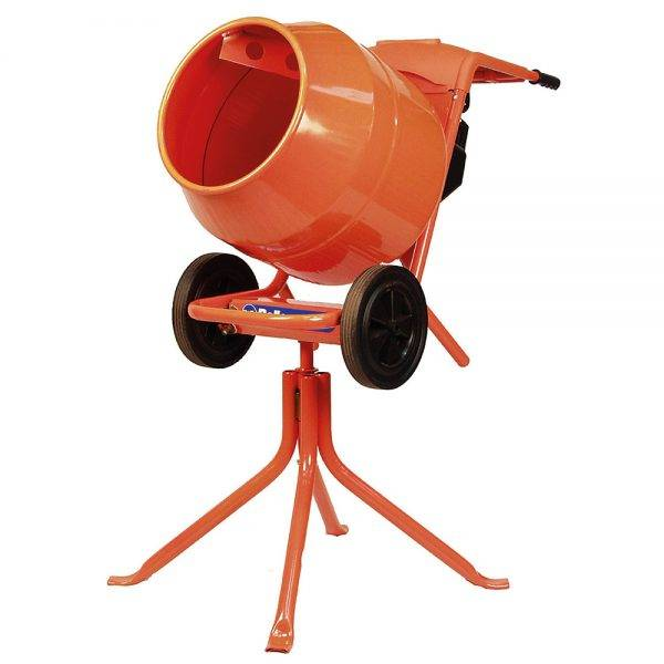 Belle 240v Minimix 150 Electric Cement Mixer & Rotational Stand