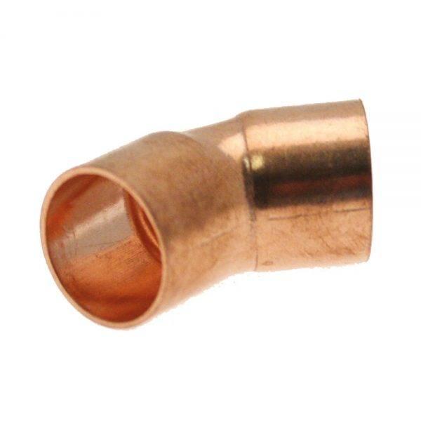22mm End Feed Obtuse Elbow CXCXC
