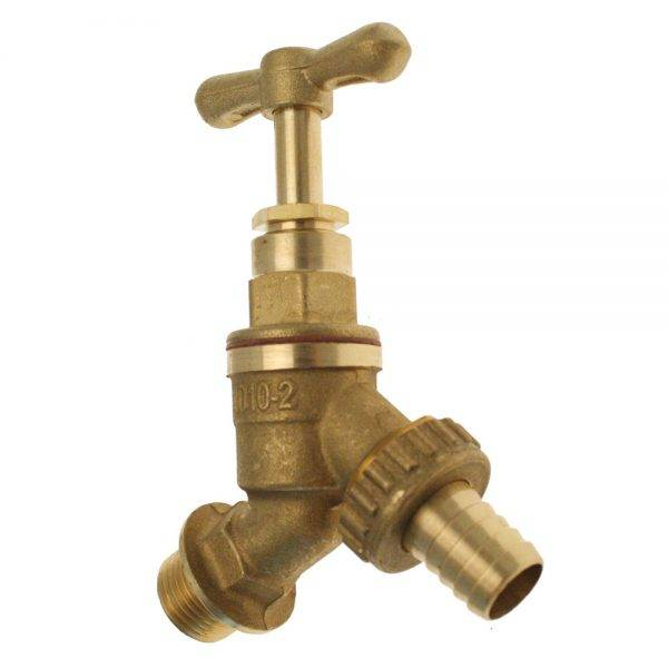 "1/2""  VHBT Brass Hose Union Bib Taps"