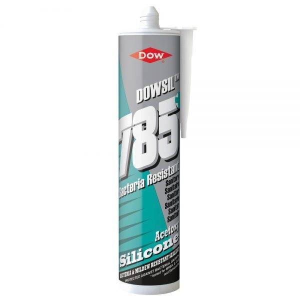Dow 785 Sanitary Sealant Clear 310ml