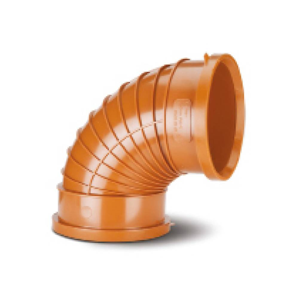 Polypipe 150mm Polysewer 45° Double Socket Bend