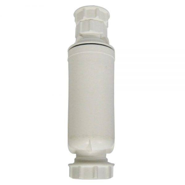 Floplast 32x32mm (76mm Seal) Telescopic Pedestal Trap White