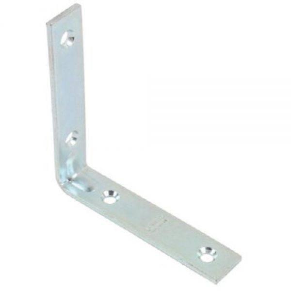 Dale 40mm Corner Brace (6pk) Zinc Plated