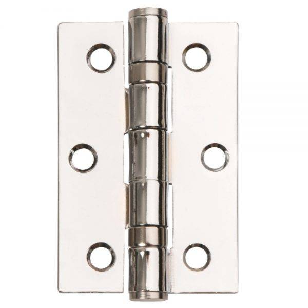 Dale 76mm x 50mm PCP Ball Bearing Butt Hinge C/W Screws