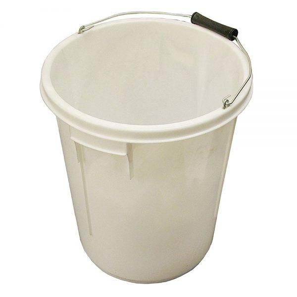 25L Plasterers Bucket White