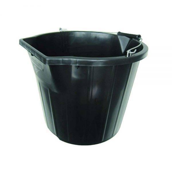 3 Gallon Builders Bucket Black