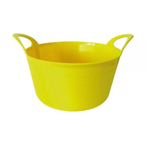 Rhino 12L Flexi Tub Yellow