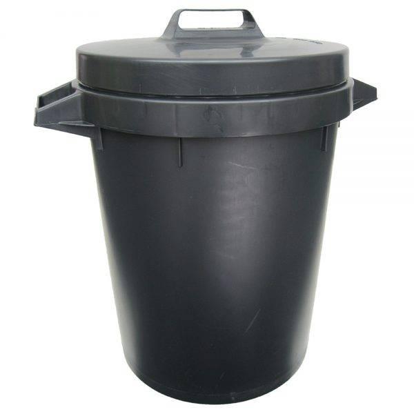 Heavy Duty Plastic Dustbin and Lid