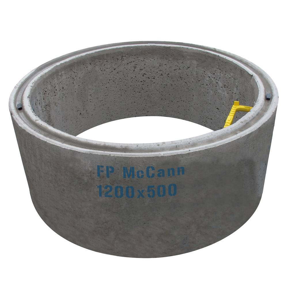 1200mm Dia DC4 x 500mm Deep Chamber Ring Solid 2 Steps