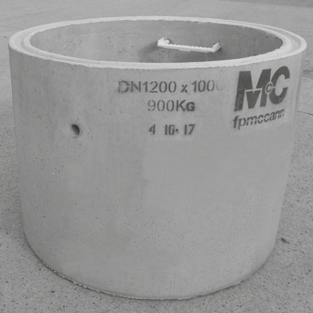 1200mm Dia x 1000mm Deep DC4 Chamber Ring Solid 4 Steps