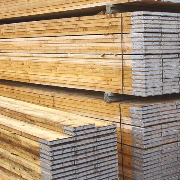 Banded Grade A Scaffold Board 38 x 225mm x 3.9m