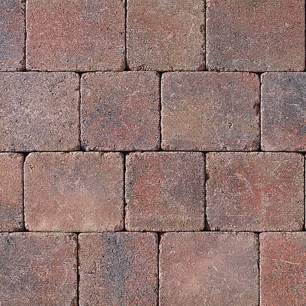 Tobermore Tegula Trio Tumbled Block Paving 3 Size Mixed