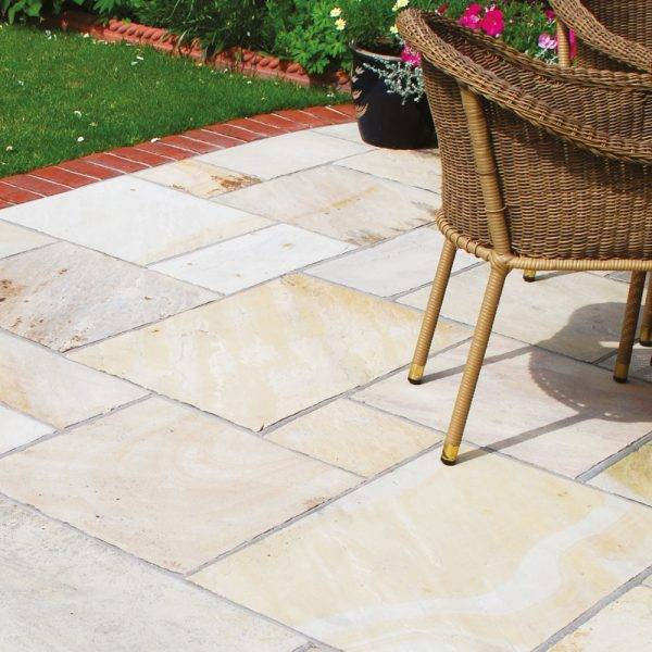 Natural Sandstone Mint 13.65m2 Project Pack