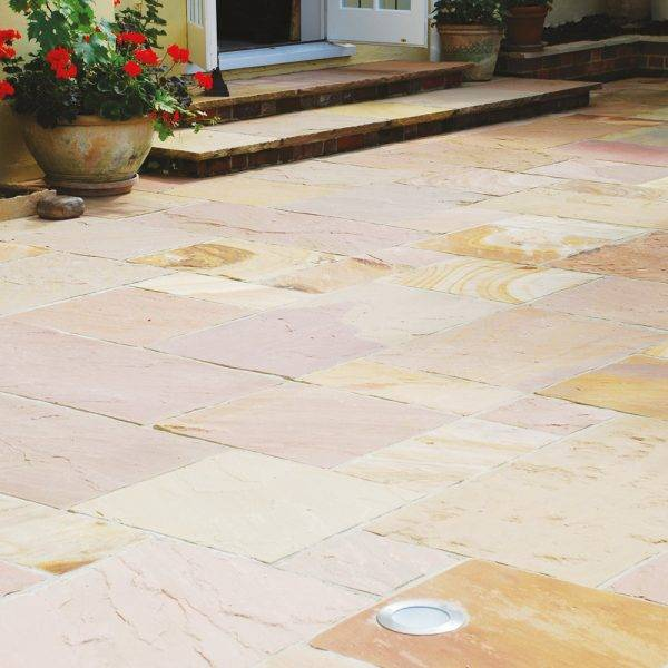 Natural Sandstone Modak Rose 13.65m2 Project Pack