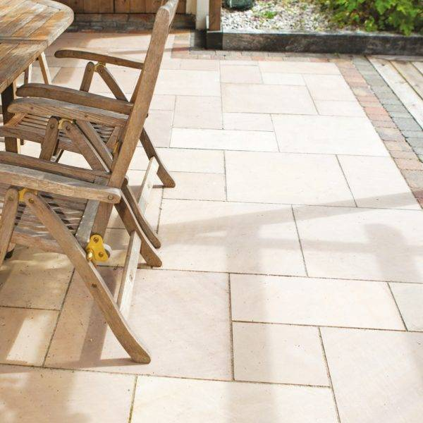 Natural Sandstone Sawn Multilight 14.18m2 Project Pack