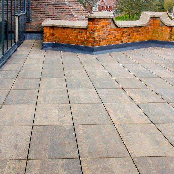 Italian Porcelain Milena Deck Brown 800 x 400mm