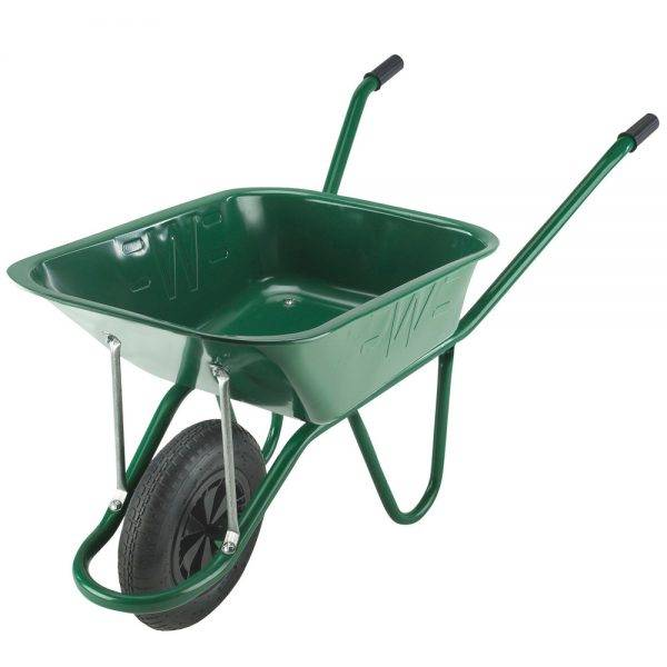 Walsall Wheelbarrow 90l Endurance Heavy Duty Green