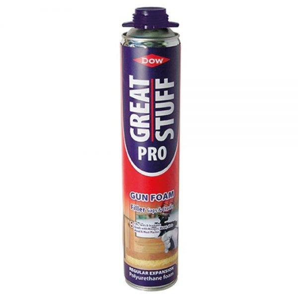 Dow Great Stuff Pro Foam Gun Filler Buff 750ml