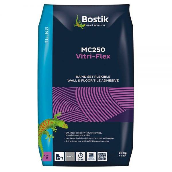 Bostik 20kg Vitri-Flex White