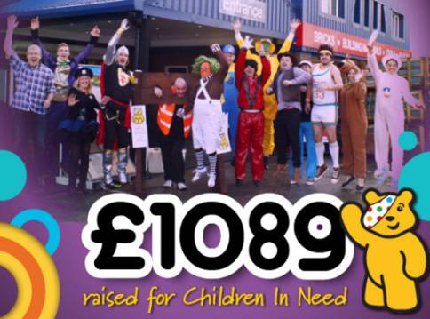 Eh Smith Superheroes Raise Money For Children In Need Eh