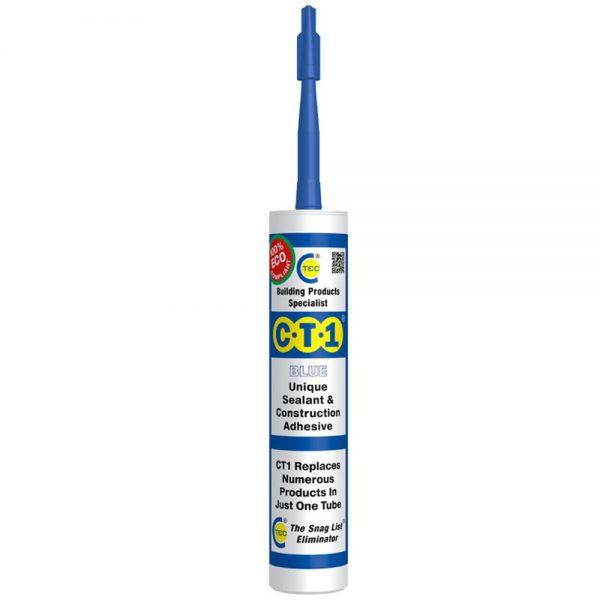 CT1 Sealant & Construction Adhesive 290ml Blue
