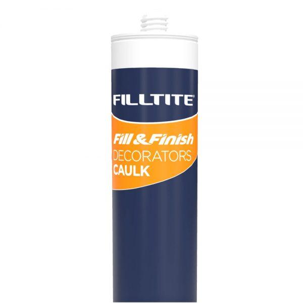 Filltite  Fill & Finish Decorators Caulk 380ml White