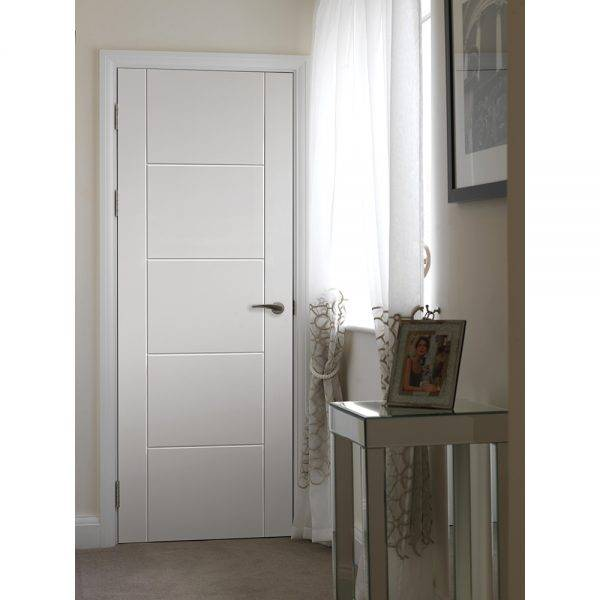 JB Kind Pre-Finished Tigris White Internal Door 35mm