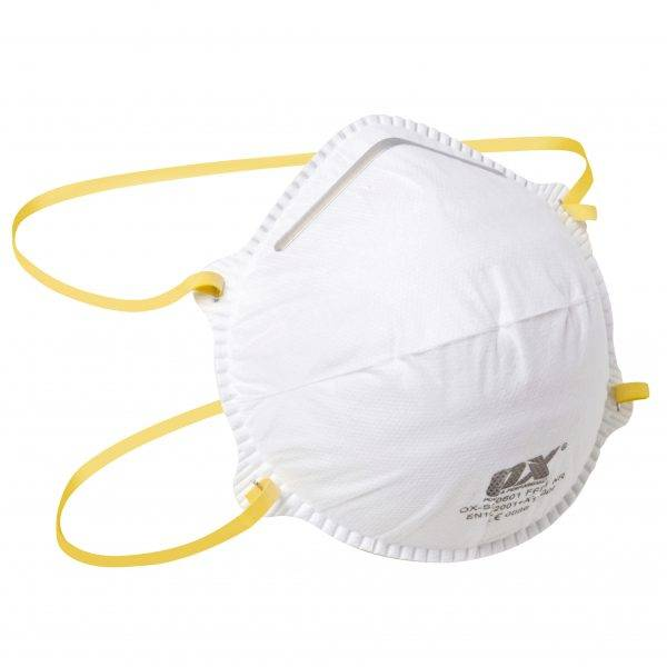 Ox FFP1 Moulded Cup Respirator