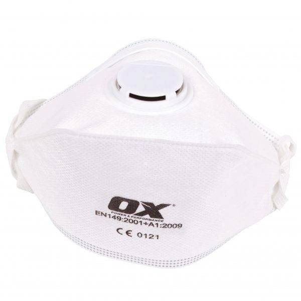 Ox FFP2v Fold Flat Respirator