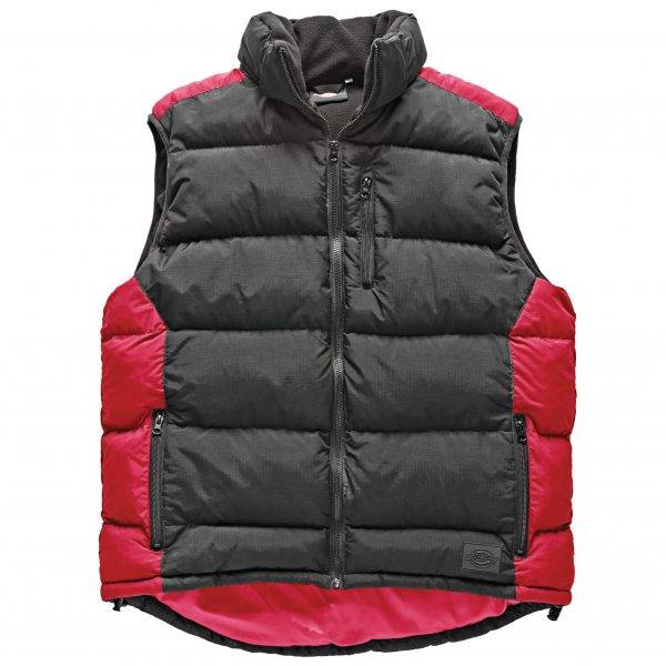 Dickies Crayford Gilet Black/Red M, L, XL, XXL