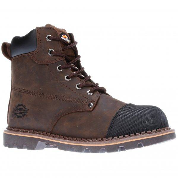Dickies Crawford Safety Boot Brown Sz 7-12