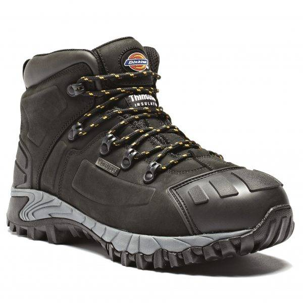 Dickies Medway Super Safety Boot Black Sz 7-12