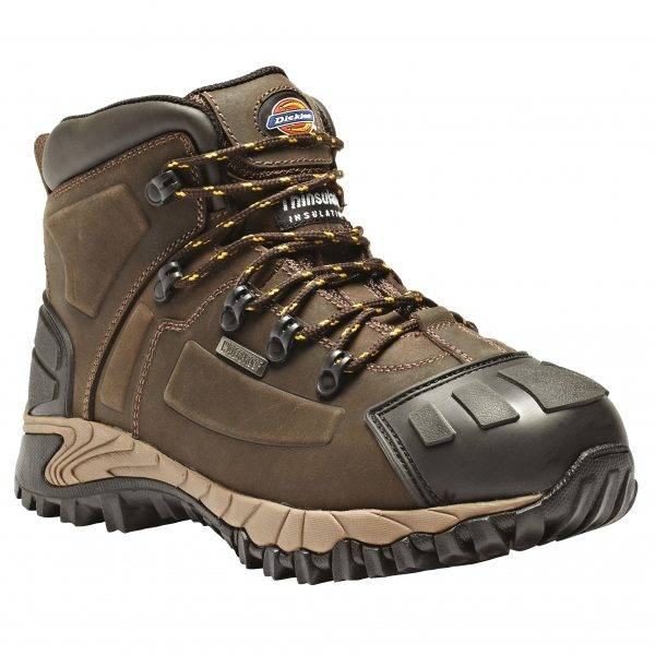 Dickies Medway Super Safety Boot Brown Sz 7-12