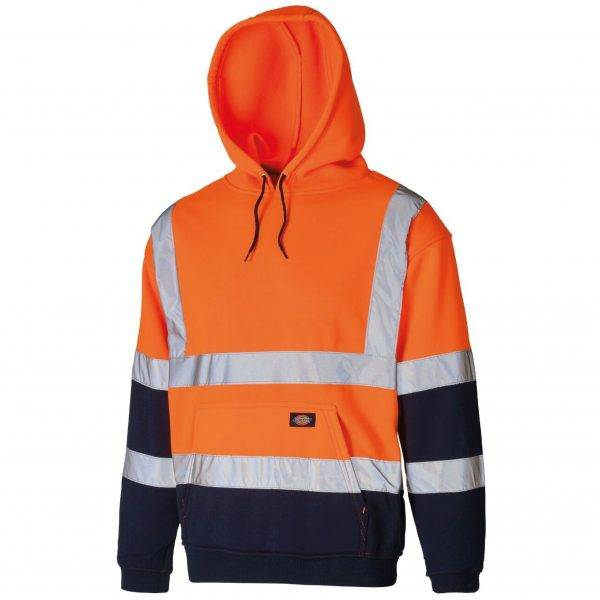 Dickies 2tone Hoodie Orange/Navy M, L, XL, XXL